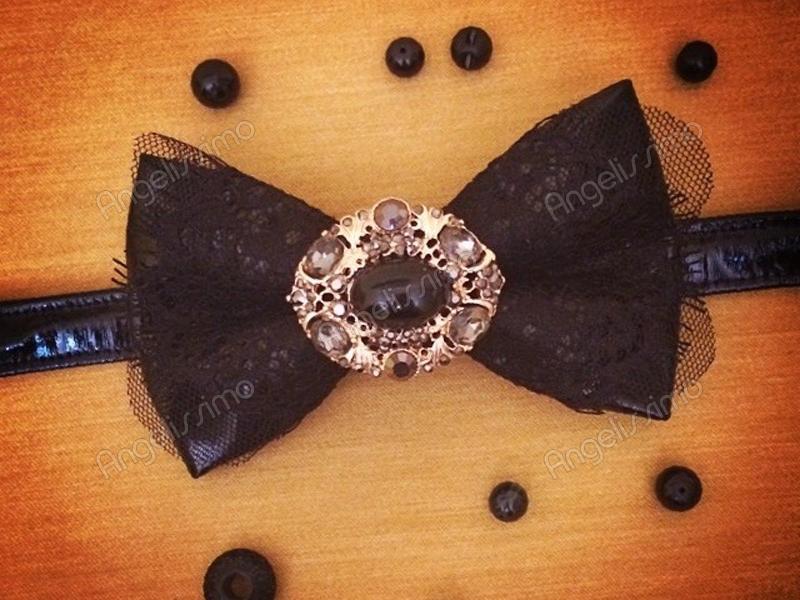 Бабочка с брошью от BowtiEsta