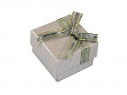 Подарочная коробка серого цвета