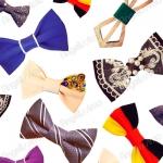 Яркий галстук-бабочка: с чем носить